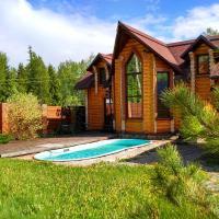 Дом для отпуска с русской баней