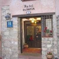 Hotel Olimpia, hotel in Albarracín
