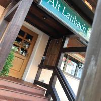 Hotel Restaurant Alt Laubach, khách sạn ở Laubach
