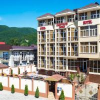 Lazurnoye Okno Hotel、ラザレフスコエのホテル