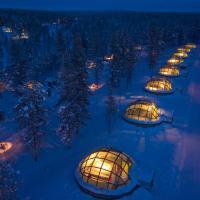 Kakslauttanen Arctic Resort - Igloos and Chalets, hotel in Saariselka