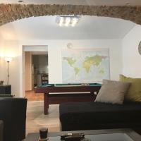 Big Homebase with Billardtable