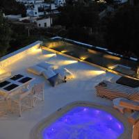 Patmos Exclusive Villas, отель в Скале