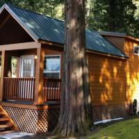Camperland Bridal Falls RV Resort & Cabins, hotel em Rosedale