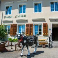 Langendorf에 위치한 호텔 Gasthof National