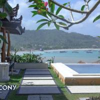 Balcony Ocean View Villas