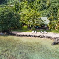 Robinson's Cove Villas - Deluxe Wallis Villa, hotel in Papetoai