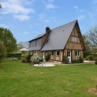 Stunning Normandy holiday home with large garden in peaceful setting