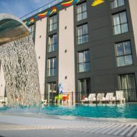 Garni Hotel Hollywoodland Wellness & Aquapark, hotel en Belgrado