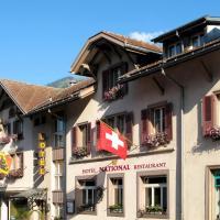 Hotel National, отель в городе Фрутиген