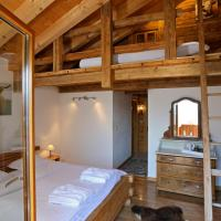 Les chambres et Roulottes des Noisetiers, hotel in Leysin