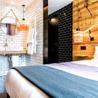 Hotel Restaurant Au Boeuf Couronné, ξενοδοχείο σε 19ο διαμ., Παρίσι