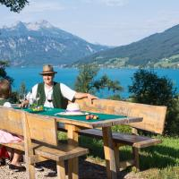Attersee-Chalet Angermann Familie Spalt, hotel in Steinbach am Attersee