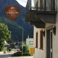 Gasthaus - Restaurant Simplon va hie, hotel in Brig