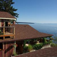 Blitz Beach House Oceanside Suite, hotel em Powell River