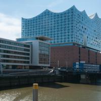 Gästezimmer an der Elbphilharmonie contactless Check in