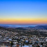 Emily's penthouse-view of Galilee&Golan mountains