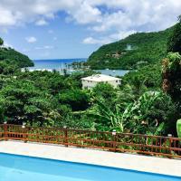 Treetops Villa, hotel in Marigot Bay