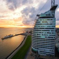 Atlantic Hotel Sail City, hotell Bremerhavenis