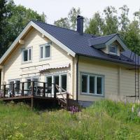 Hjortö stockstuga, hotell i Ödkarby