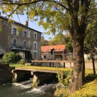 Le Moulin de Mocquesouris, hôtel à Nazelles-Négron