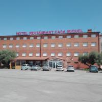 Hotel Restaurant Casa Miquel, hotel en Alcarraz