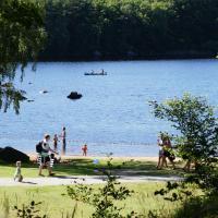Långasjönäs Camping & Stugby, hotell i Karlshamn