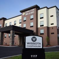 Cobblestone Hotel & Suites - Stevens Point, hotel in Stevens Point