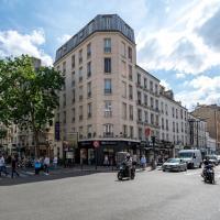 Hotel de L'Union, ξενοδοχείο σε 20ο διαμ., Παρίσι