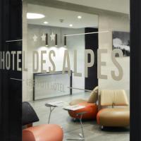 Hotel des Alpes, hótel í Genf