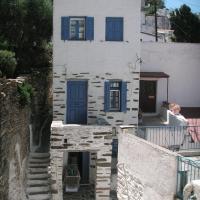3-level doll house in Kea Ioulida/Chora, Cyclades