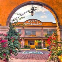 Hotel Teotihuacan, отель в городе Сан-Хуан-Теотиуакан