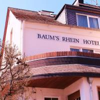 Baum´s Rheinhotel, hotel in Boppard