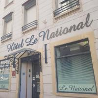 Hôtel Le National, hotel in Saint-Étienne