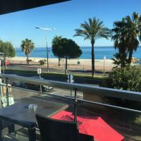 Citotel Tiercé Beach Hotel, hotel a Cagnes-sur-Mer