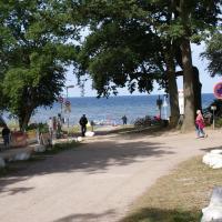 Möwe am Strand mit Terrasse & Parkplatz - ABC58, hotel in Zierow