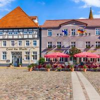 Hotel Am Markt & Brauhaus Stadtkrug, отель в городе Иккермюнде