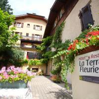 Logis La Terrasse Fleurie, hôtel à Divonne-les-Bains