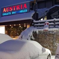 Austria Mzaar Chalets & Services, hotel in Kfardebian