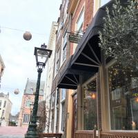 ExLibris Boutique Hotel, hótel í Leiden