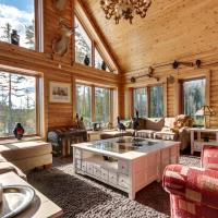 Rustic Luxury Cottage on Private Lake, hotel in Saint-Alexis-des-Monts
