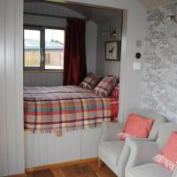 The Little John Petite Cosy Cabin at Fairview Farm Nottingham set in 88 acres
