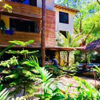 Spondylus Lodge, hotel em Ayampe
