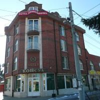 Hotel Consul, hotelli kohteessa Sofia lähellä lentokenttää Sofian lentokenttä - SOF