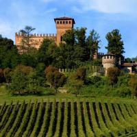Castello di Gabiano, hotell i Gabiano