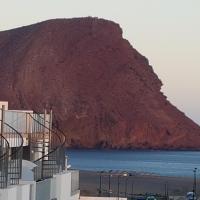 Vista Montaña Roja Medano