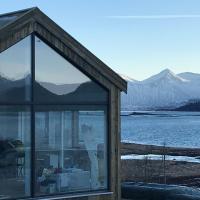 Steigen Lodge Sjøhytter, hotel in Engeløya