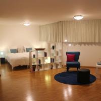 A Casa Fina- a modern room close to Basel, отель в городе Therwil