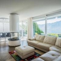 Magic Villa Montreux, impressive views on Geneva Lake and Mountains