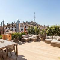 Spanish Steps Design Penthouse With Terrace